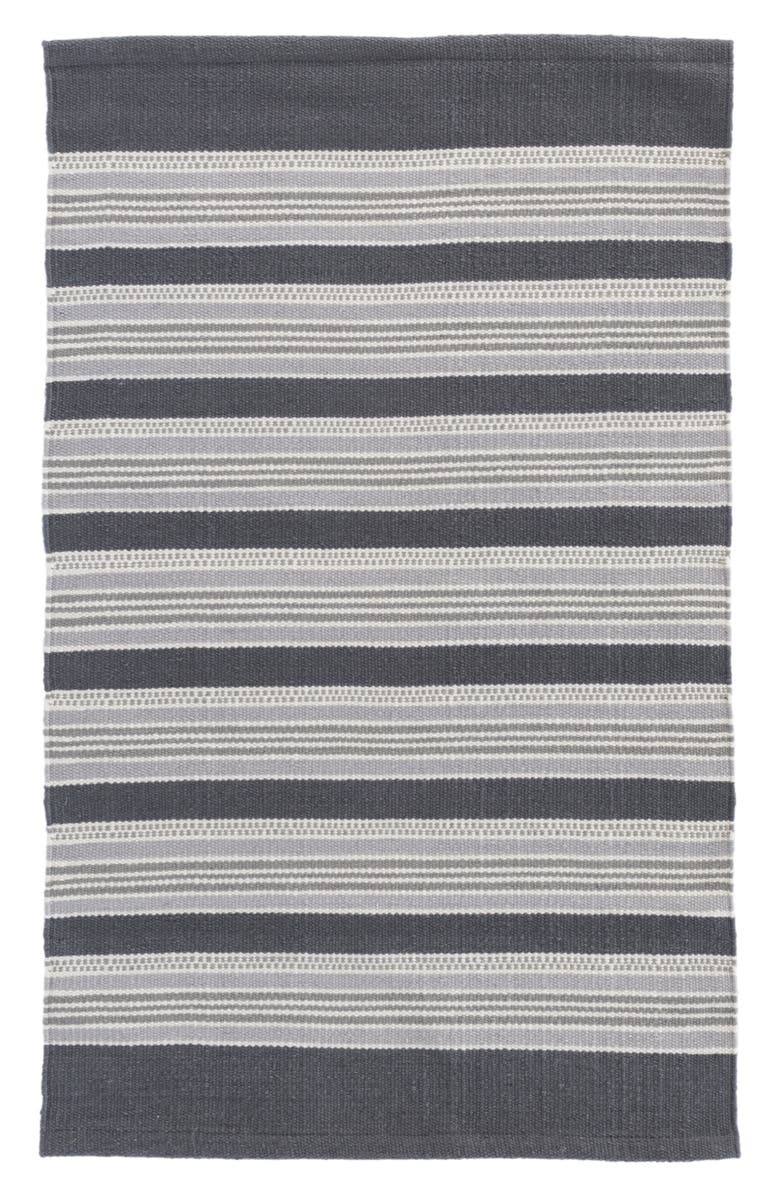 DASH & ALBERT Akono Indoor/Outdoor Rug, Main, color, GREY MULTI