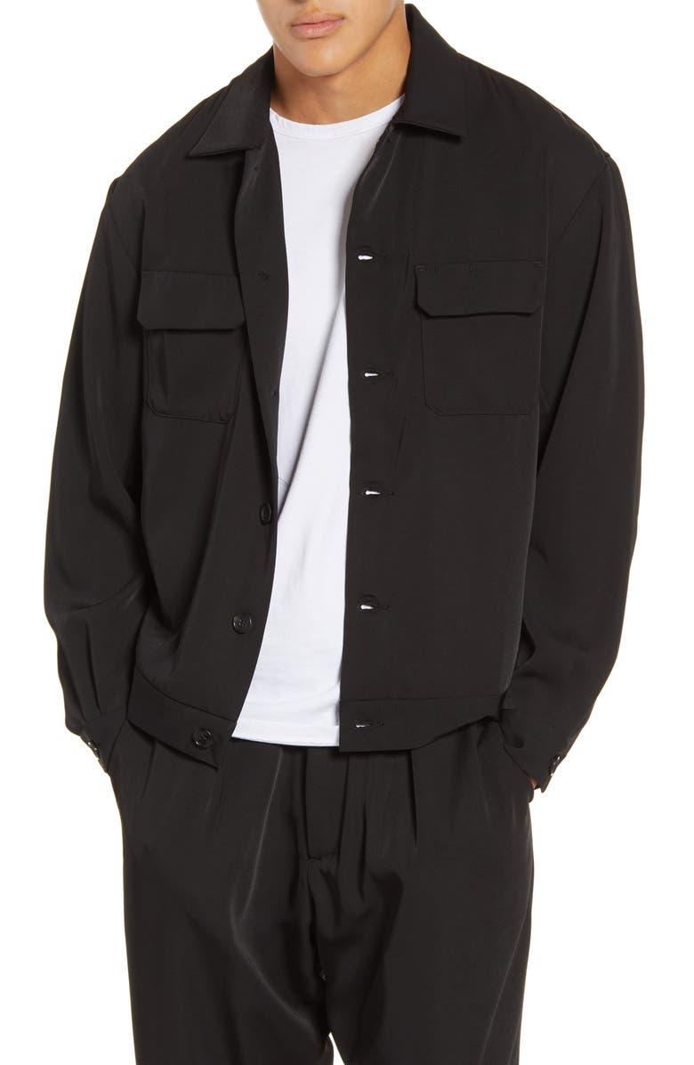 DRIFTER Pala Shirt Jacket, Main, color, 001