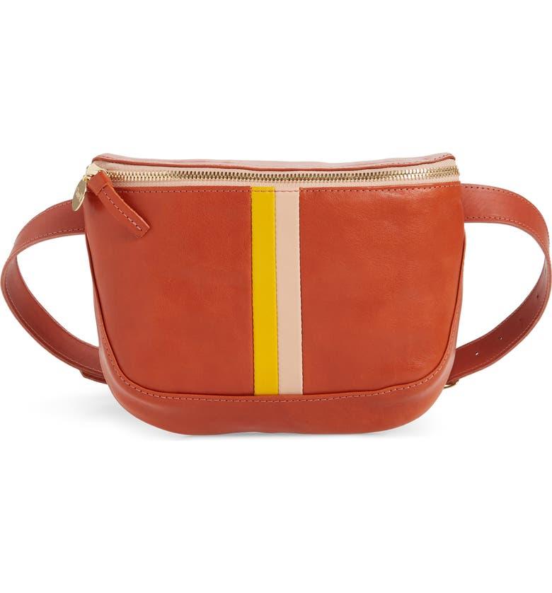 Clare V Leather Belt Bag