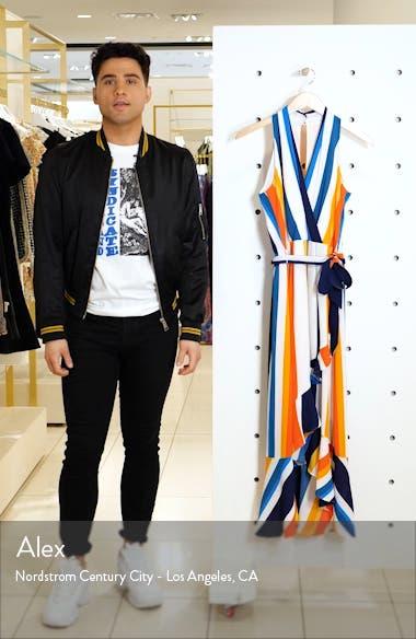Striped Halter Maxi Sundress, sales video thumbnail