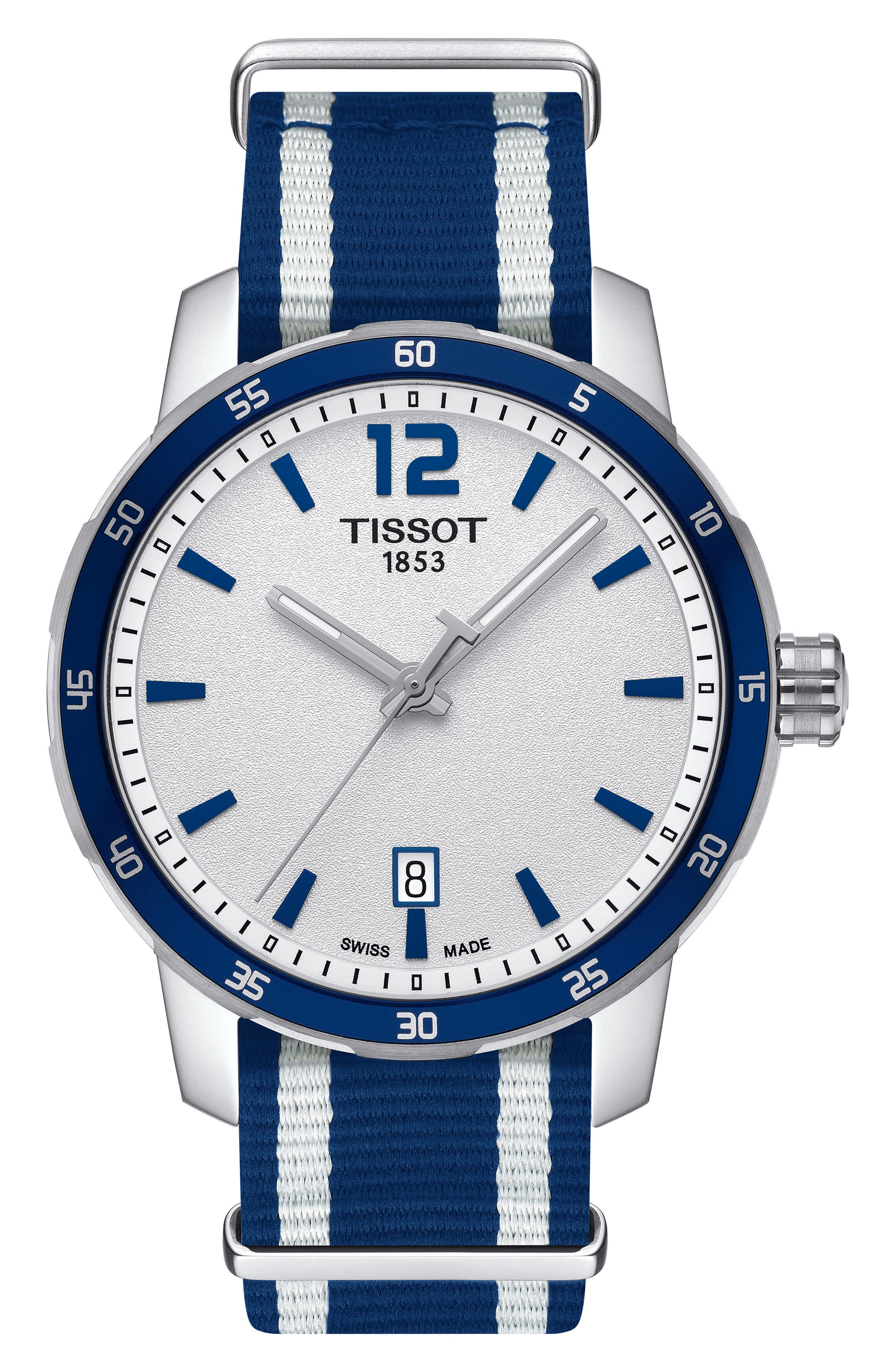 Image of Tissot Men's Quickster NATO Strap Watch, 40mm