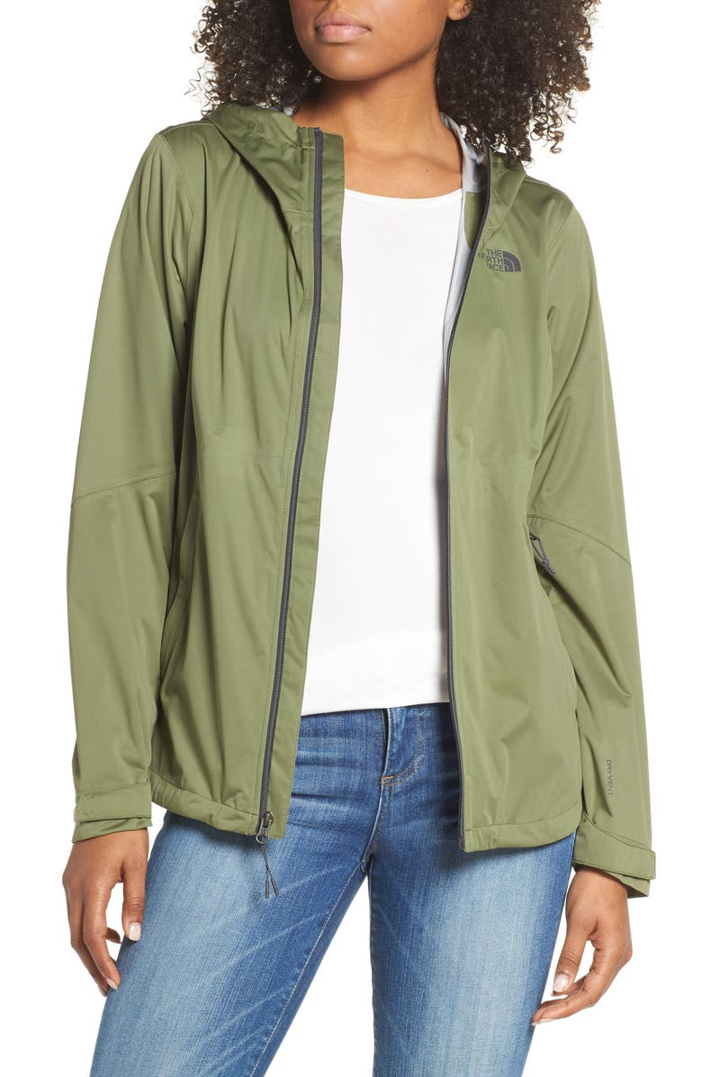 THE NORTH FACE Allproof Stretch Jacket, Main, color, FOUR LEAF CLOVER