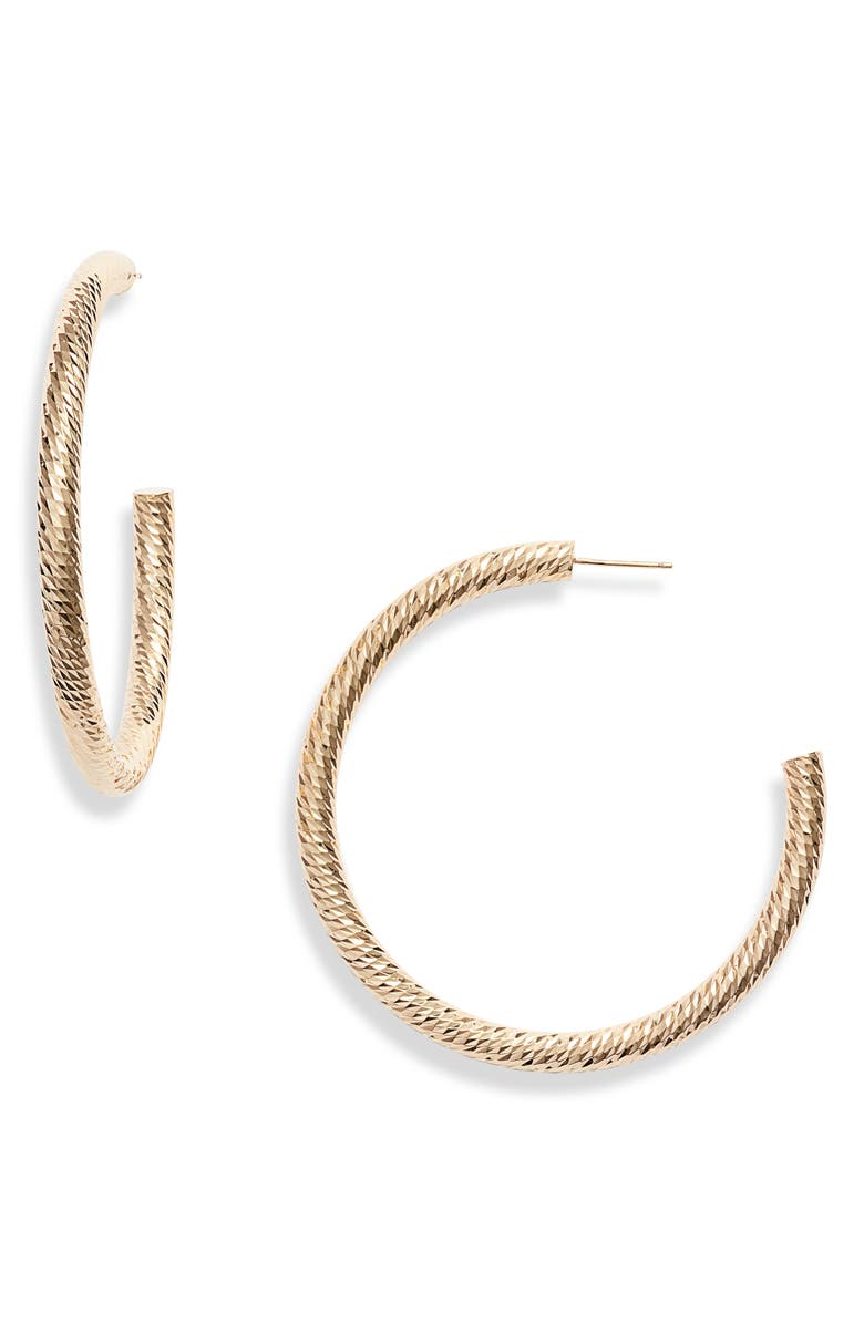 Jennifer Zeuner Coley Hoop Earrings