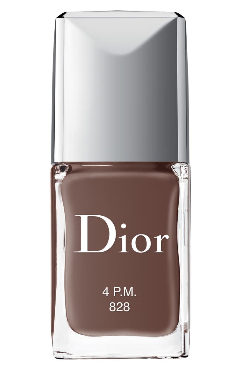 DIOR Vernis Gel Shine & Long Wear Nail Lacquer, Main, color, 828 4 P.M.
