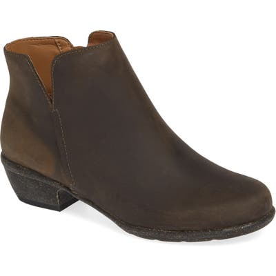 Clarks Wilrose Frost Bootie- Grey
