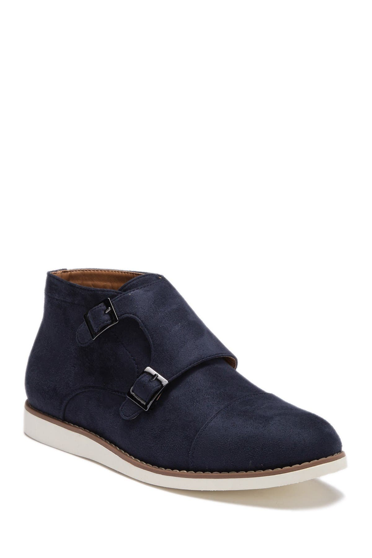 Image of Reserved Footwear Monk Strap Cap Toe Casual Boot