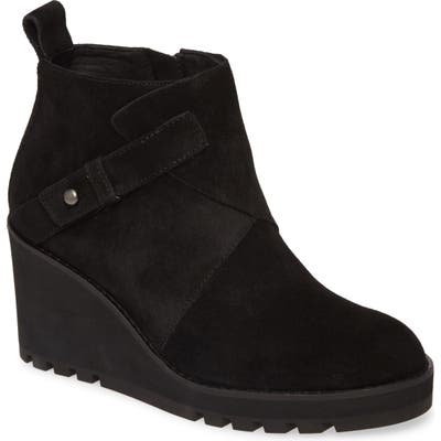 Eileen Fisher Tinker Wedge Bootie- Black