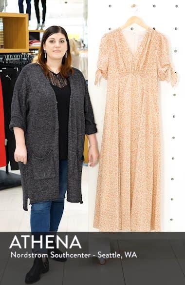 Ditsy Floral Print Maxi Dress, sales video thumbnail