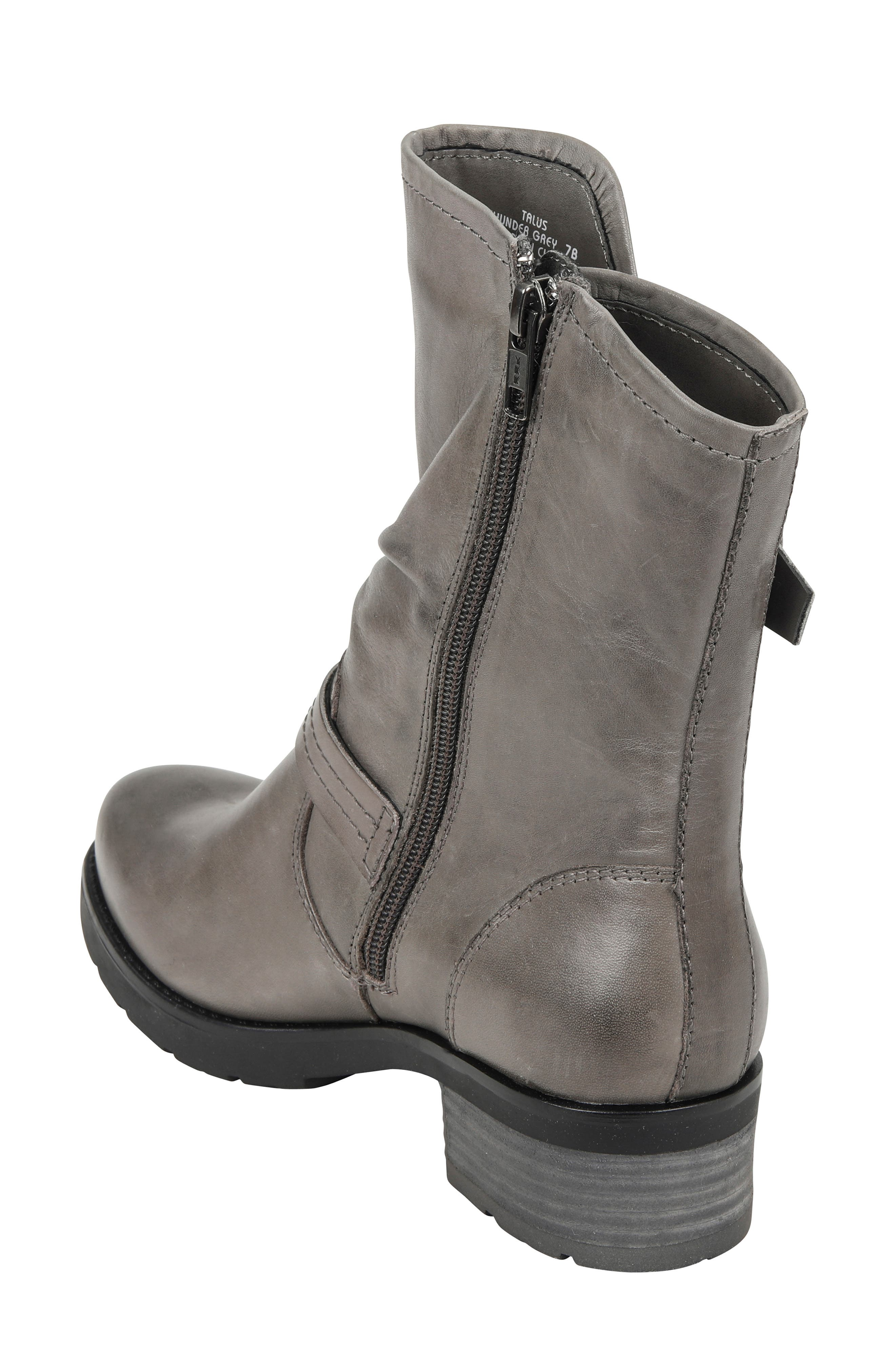 ,                             Talus Boot,                             Alternate thumbnail 2, color,                             GREY LEATHER