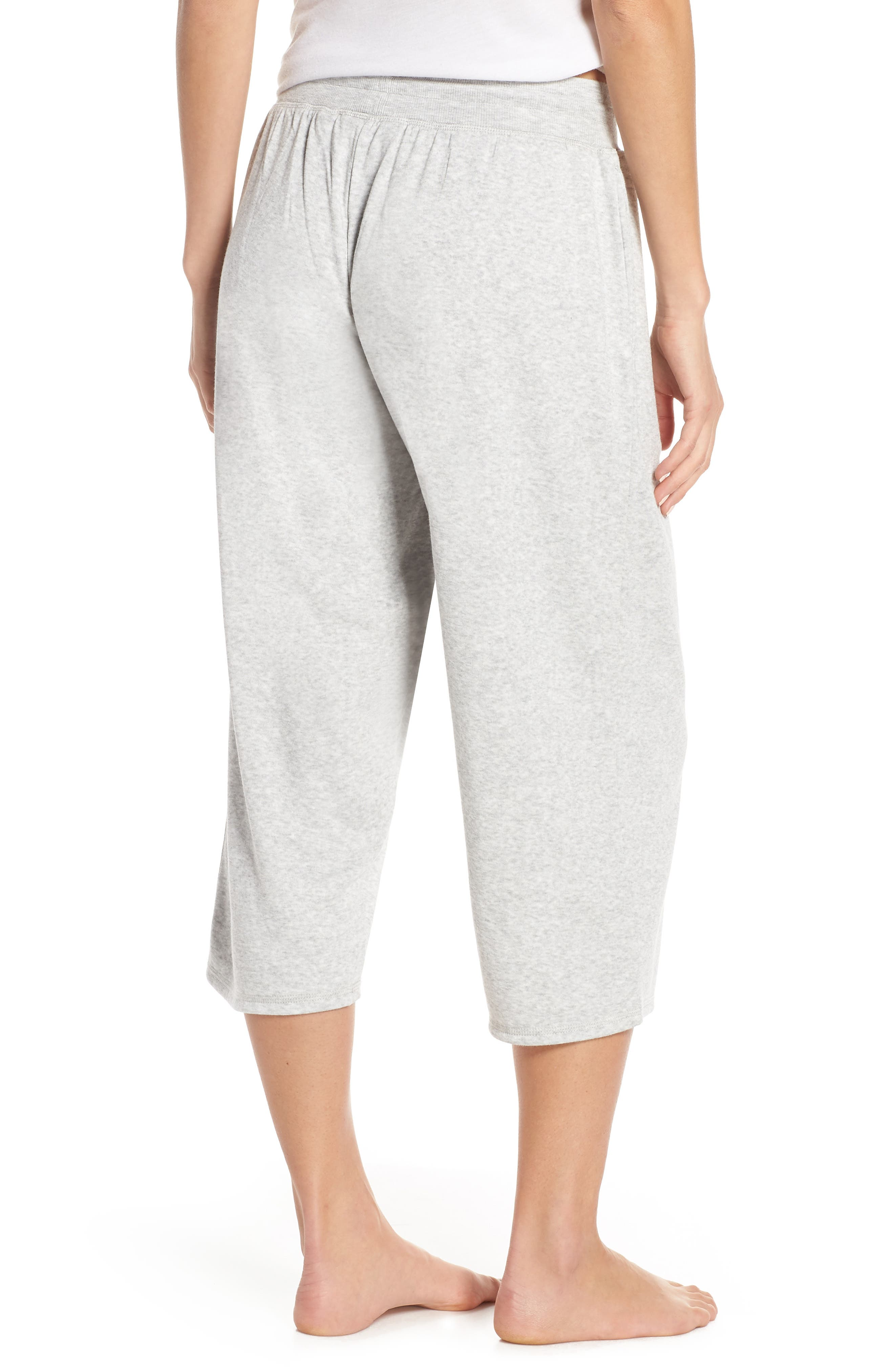 ,                             Cropped Fleece Pants,                             Alternate thumbnail 2, color,                             050