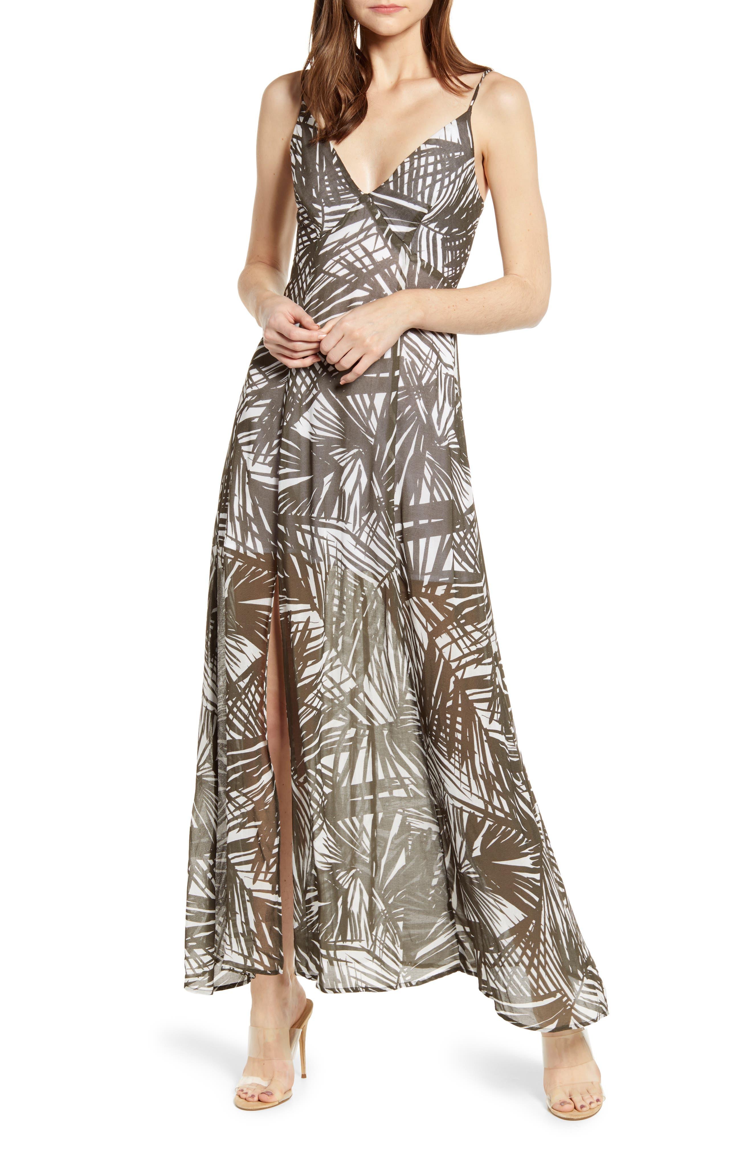 Bailey 44 Rainforest Maxi Dress, Green