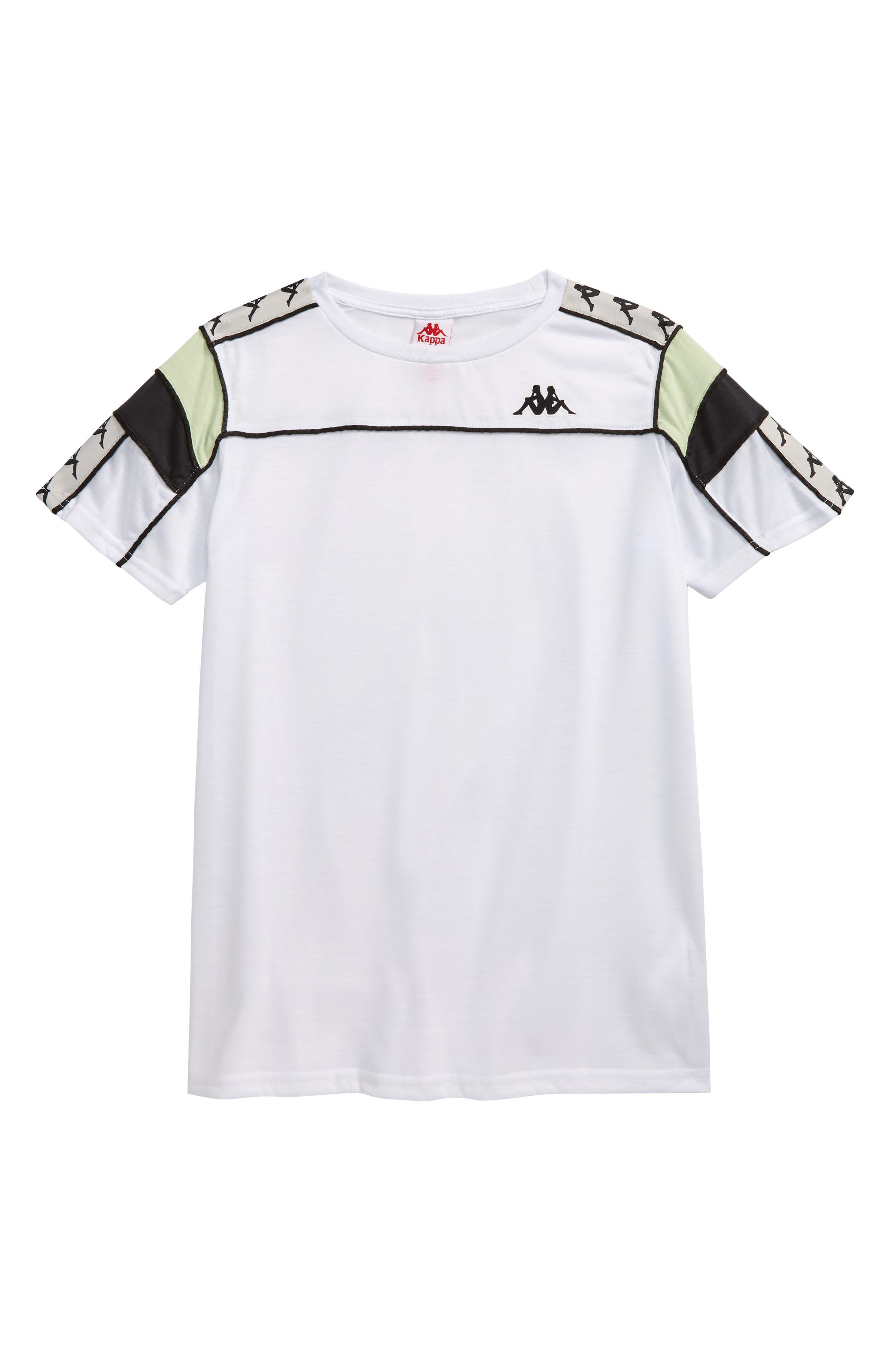 Boys Kappa 222 Banda TShirt Size 10Y  Black