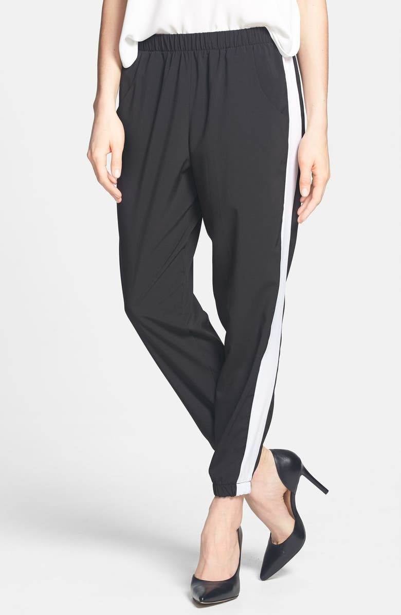 H.I.P. Tuxedo Stripe Track Pants, Main, color, 001