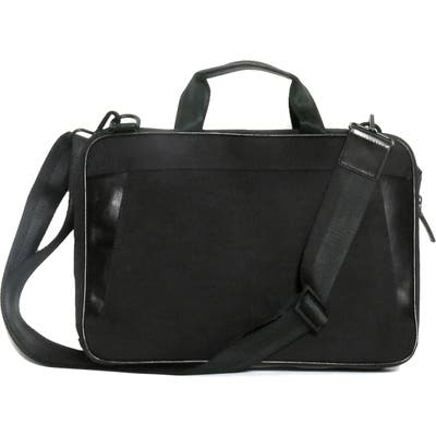 Boconi Collins Canvas Briefcase - Black