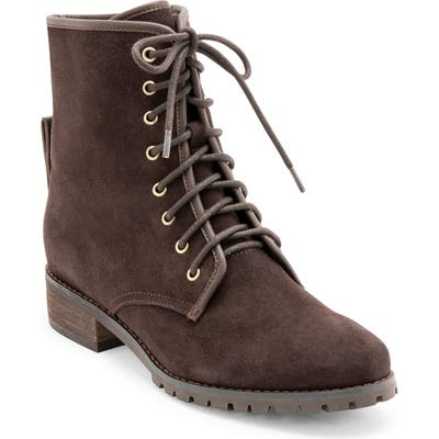 Blondo Prima Waterproof Lace-Up Boot- Brown