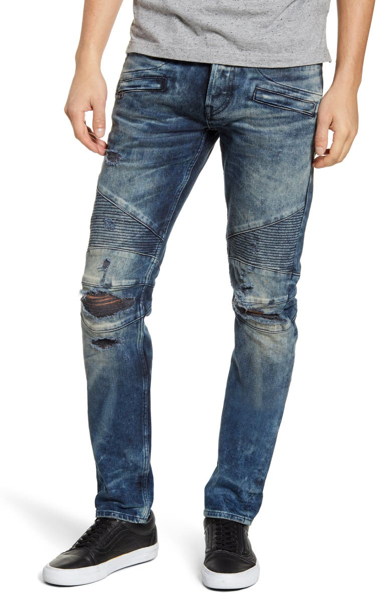 HUDSON JEANS Blinder Biker Skinny Fit Jeans, Main, color, ENERGY