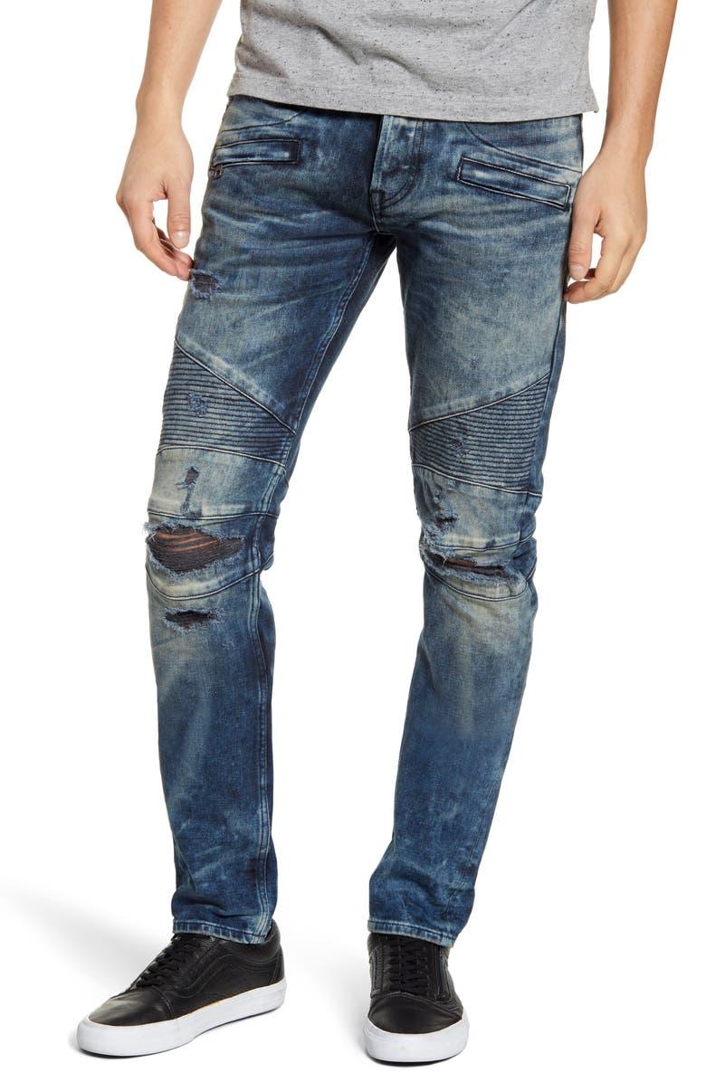 HUDSON JEANS Blinder Biker Skinny Fit Jeans, Main, color, 420