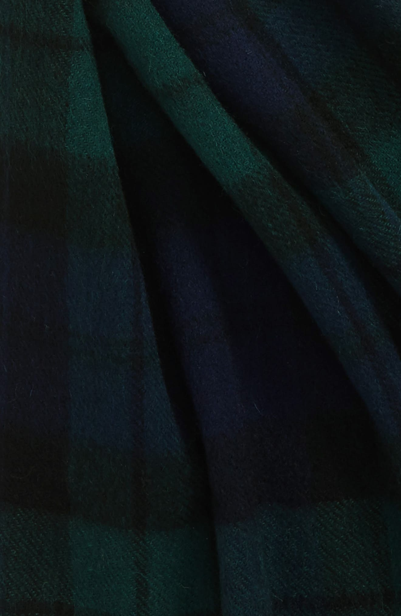 ,                             New Check Lambswool & Cashmere Scarf,                             Alternate thumbnail 12, color,                             410