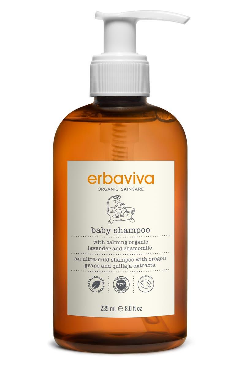 ERBAVIVA Baby Shampoo, Main, color, NO COLOR