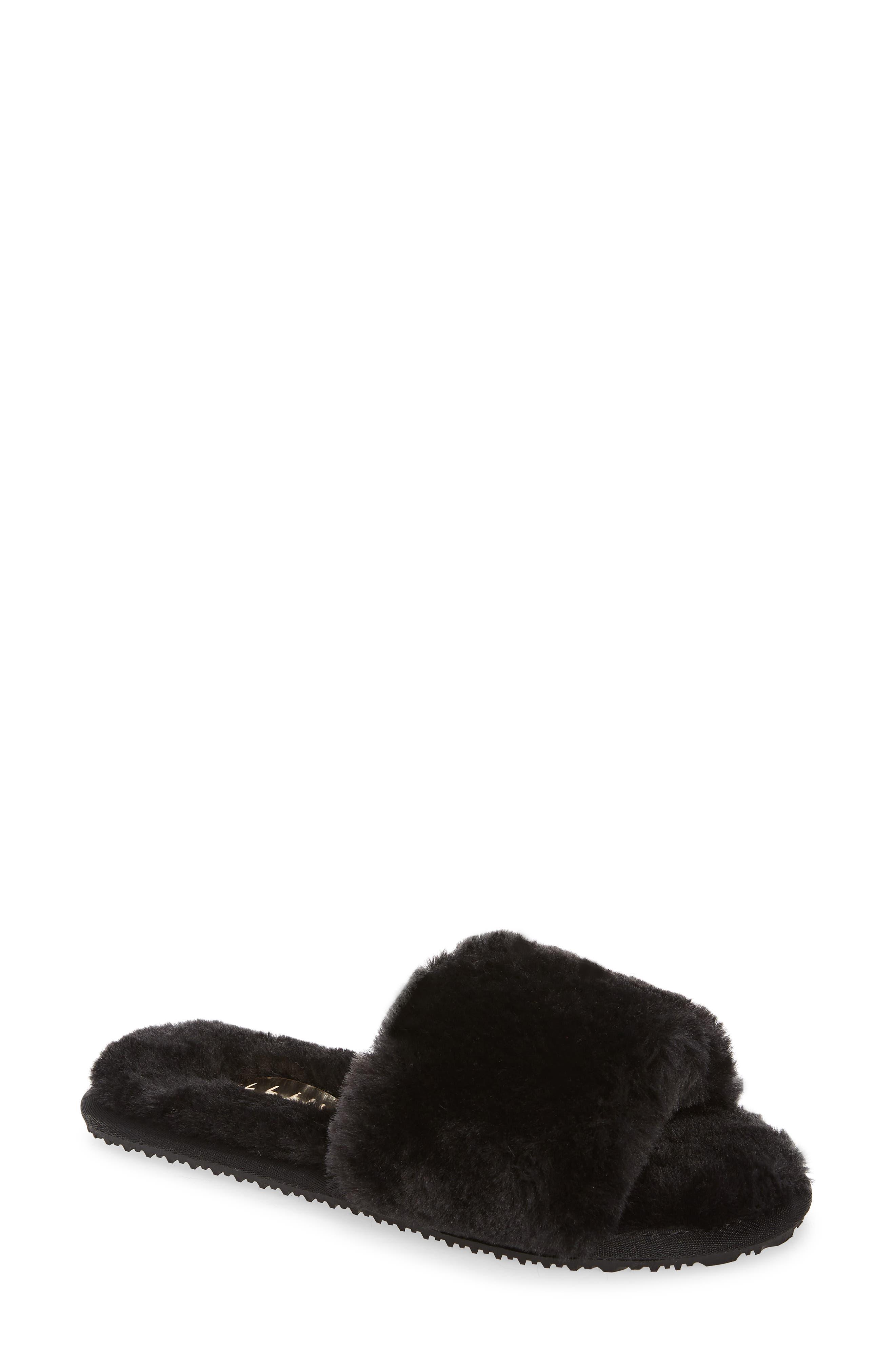Emmet Faux Fur Slipper