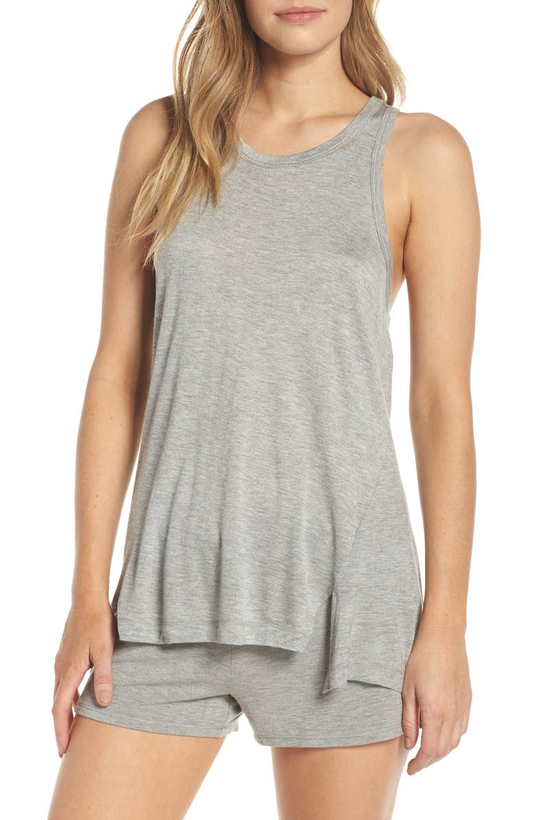 PJ SALVAGE Lounge Essentials Tank, Main, color, 020