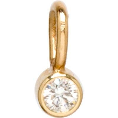 Zoe Chicco Bezeled Diamond Charm