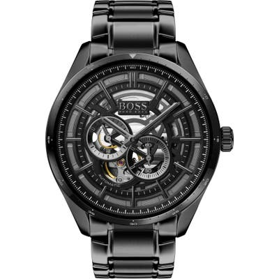 Boss Grand Prix Automatic Bracelet Watch, 4m