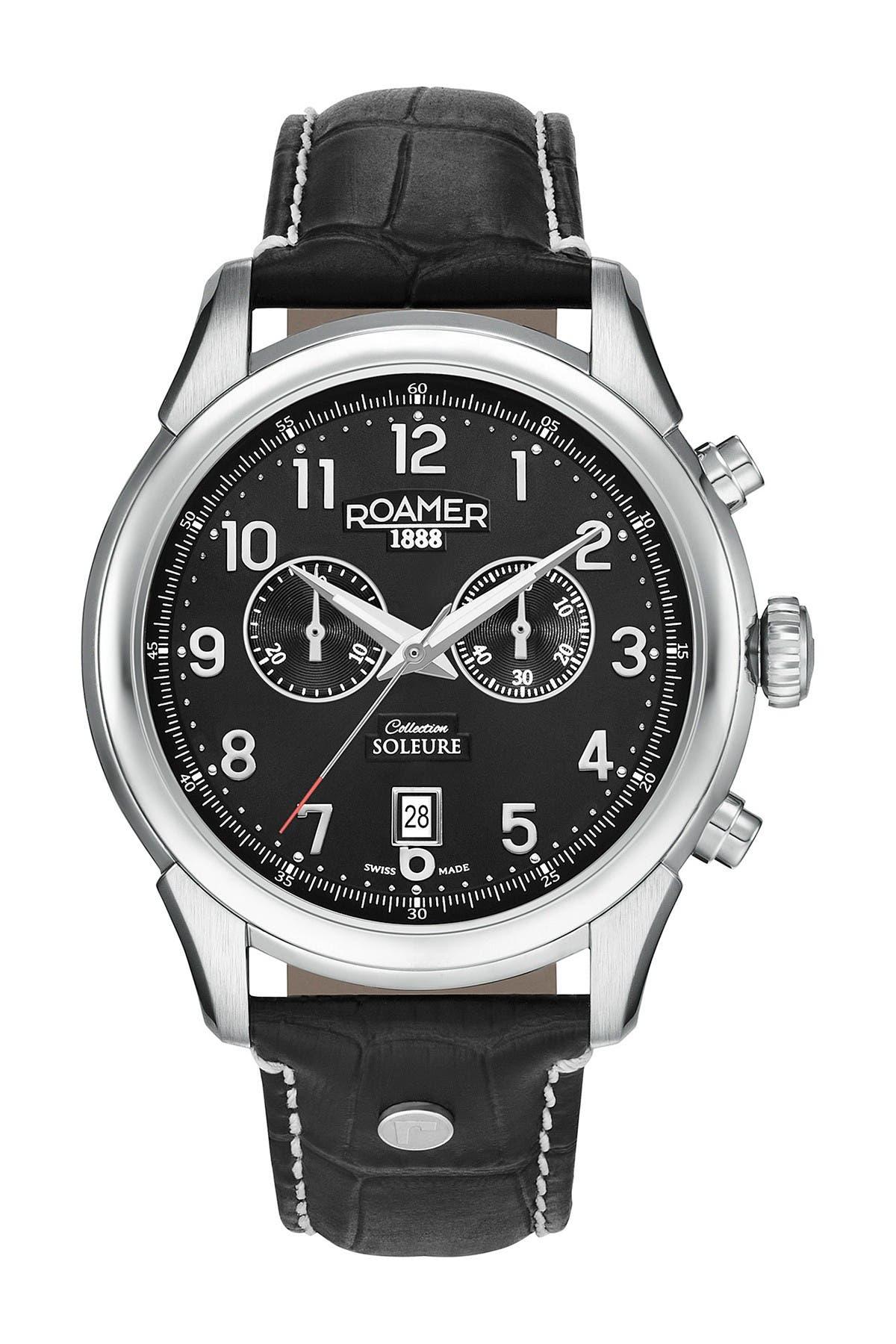 Image of Roamer Men's Soleure Chronograph Date Watch