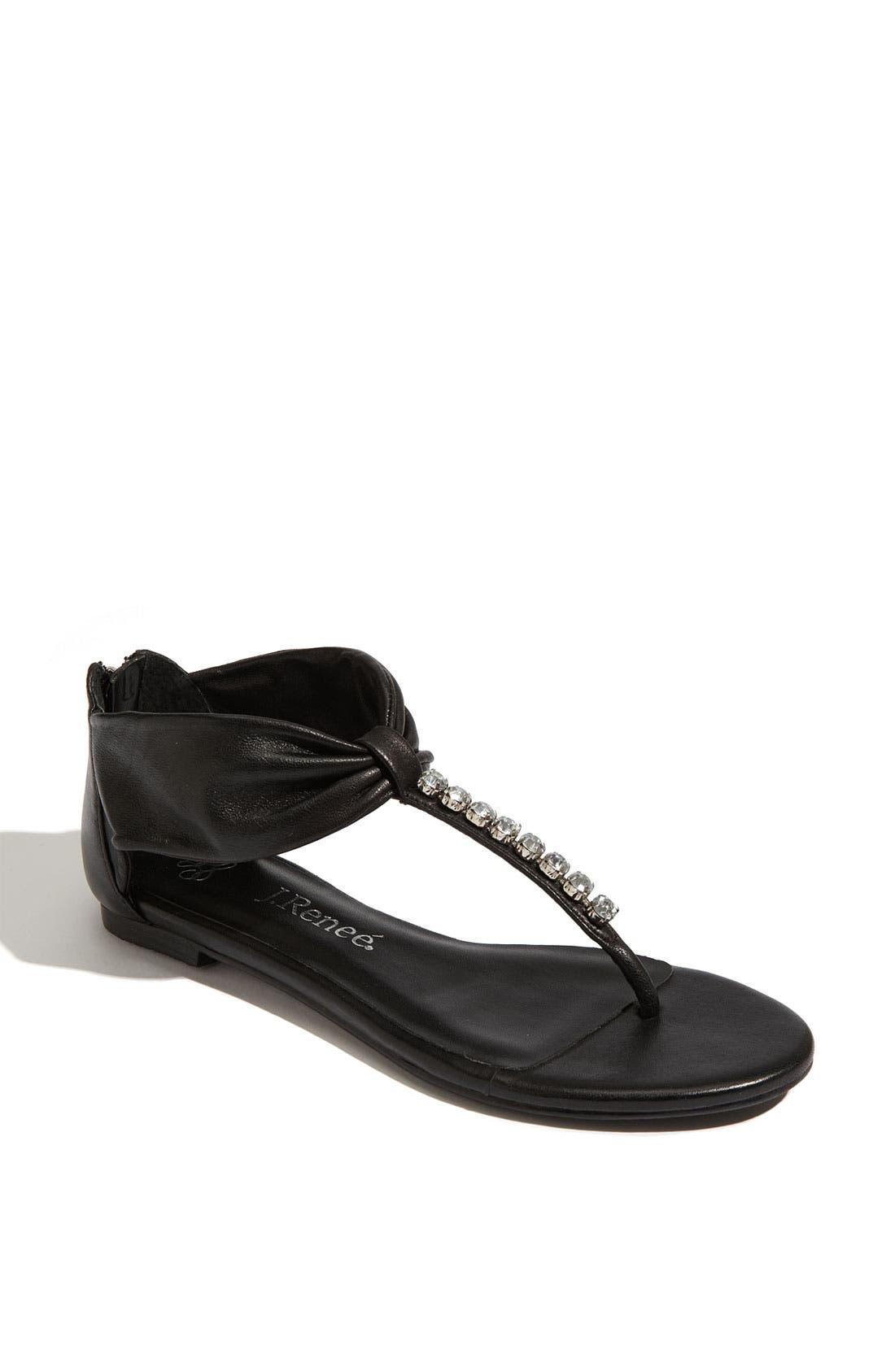 'Spruce' Sandal, Main, color, 001