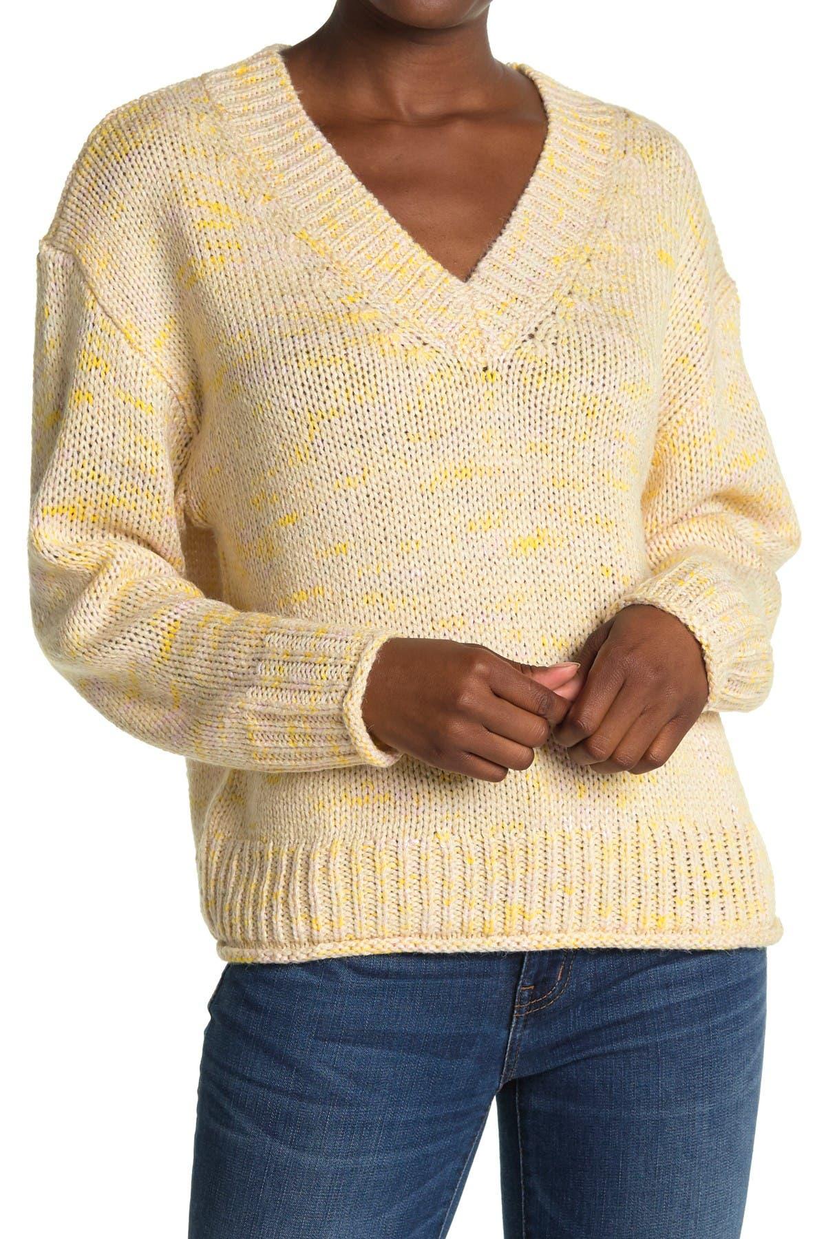Image of ALL IN FAVOR V-Neck Dolman Sleeve Sweater