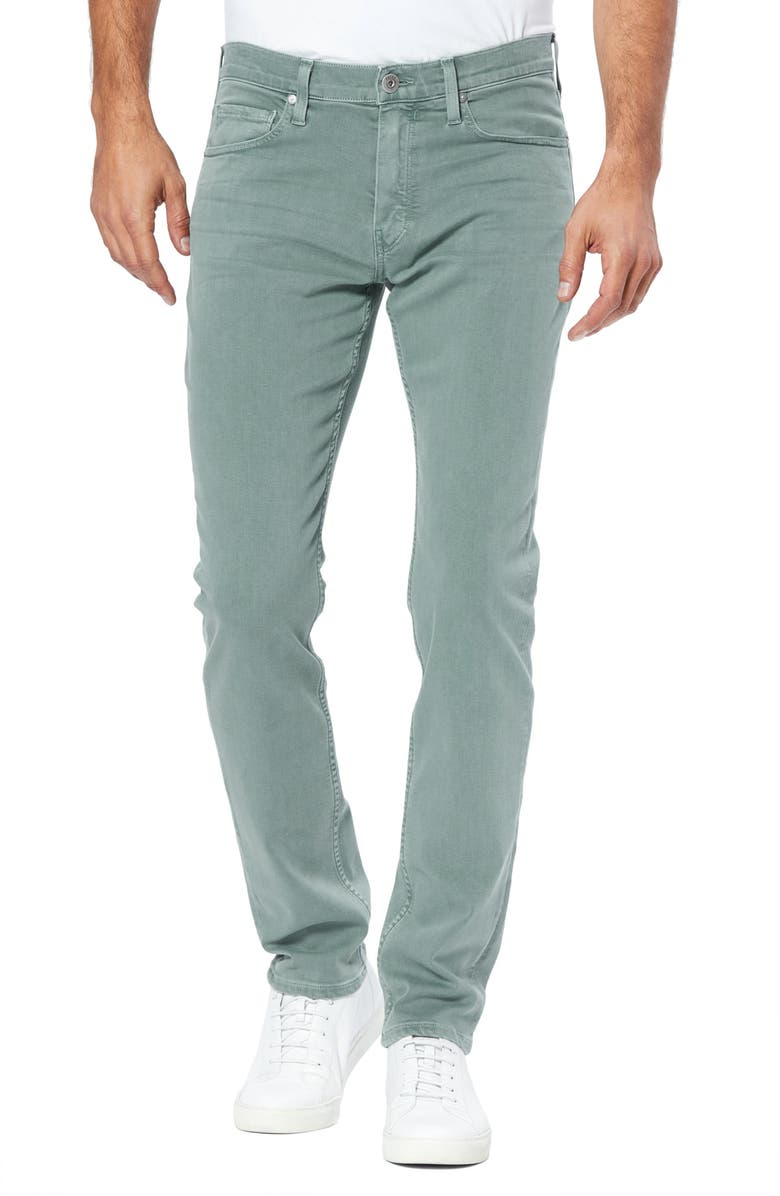 PAIGE Transcend Federal Slim Straight Leg Jeans, Main, color, VINTAGE RAIN WATER