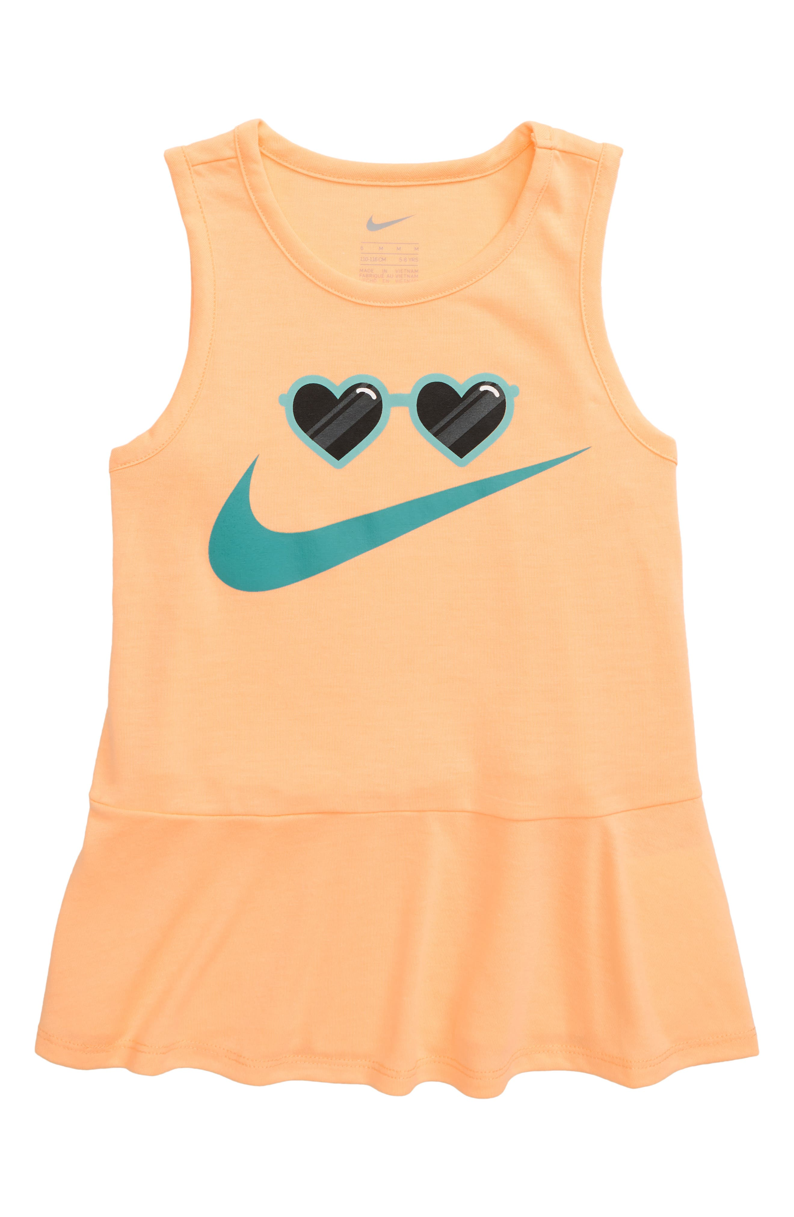 Toddler Girls Nike Sunglasses Swoosh Tank (Toddler  Little Girls)