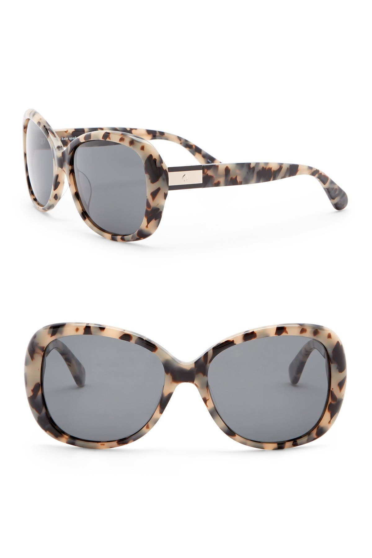 Image of kate spade new york judyanne 56mm butterfly sunglasses