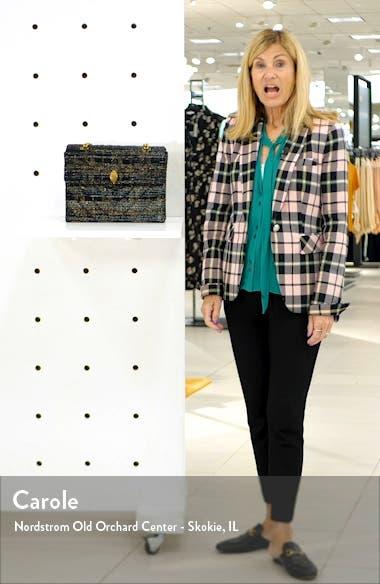 Large Kensington X Tweed Shoulder Bag, sales video thumbnail