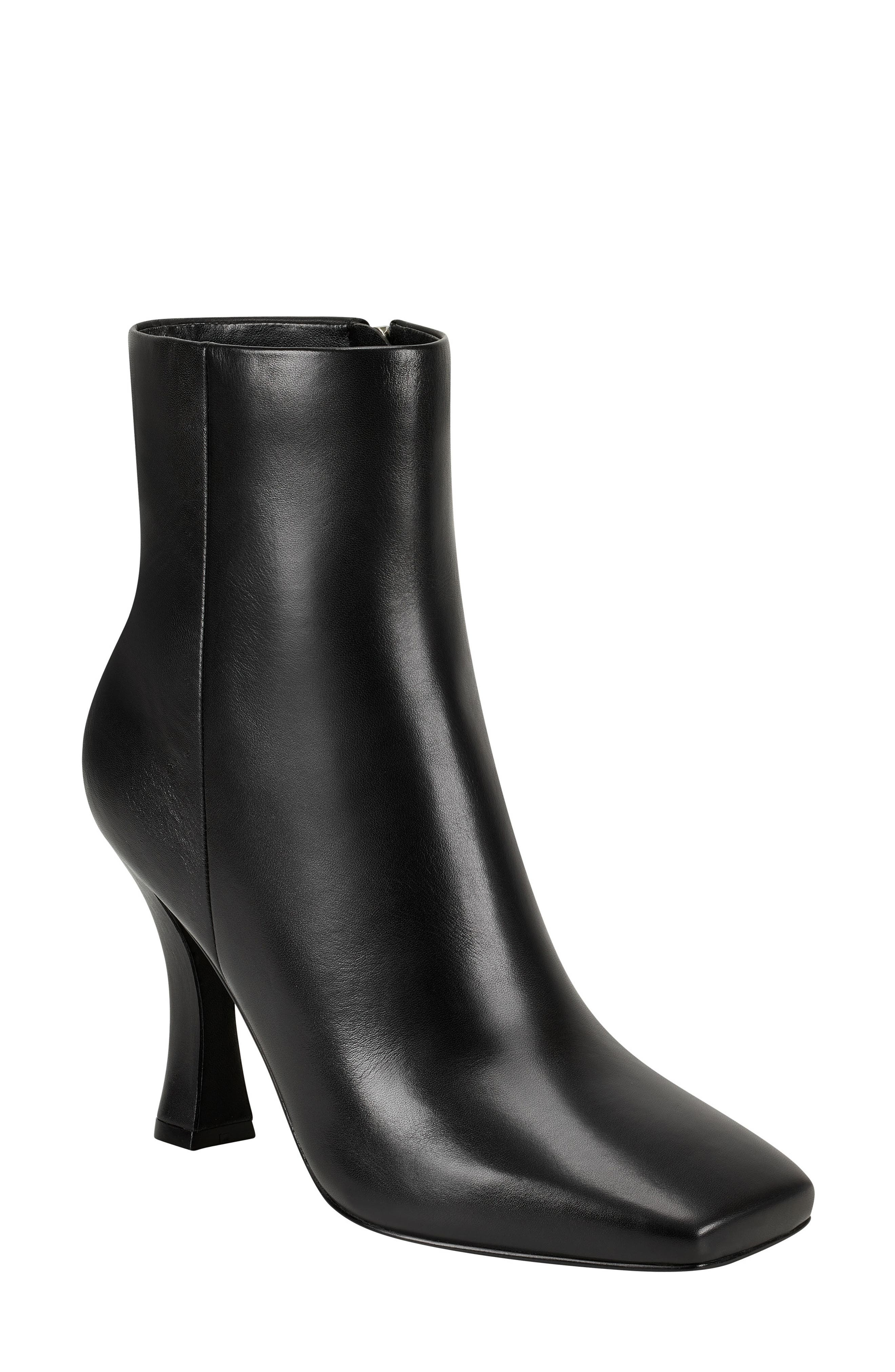 Marc Fisher Suede Ankle Boots 5M Women's BLACK NWD