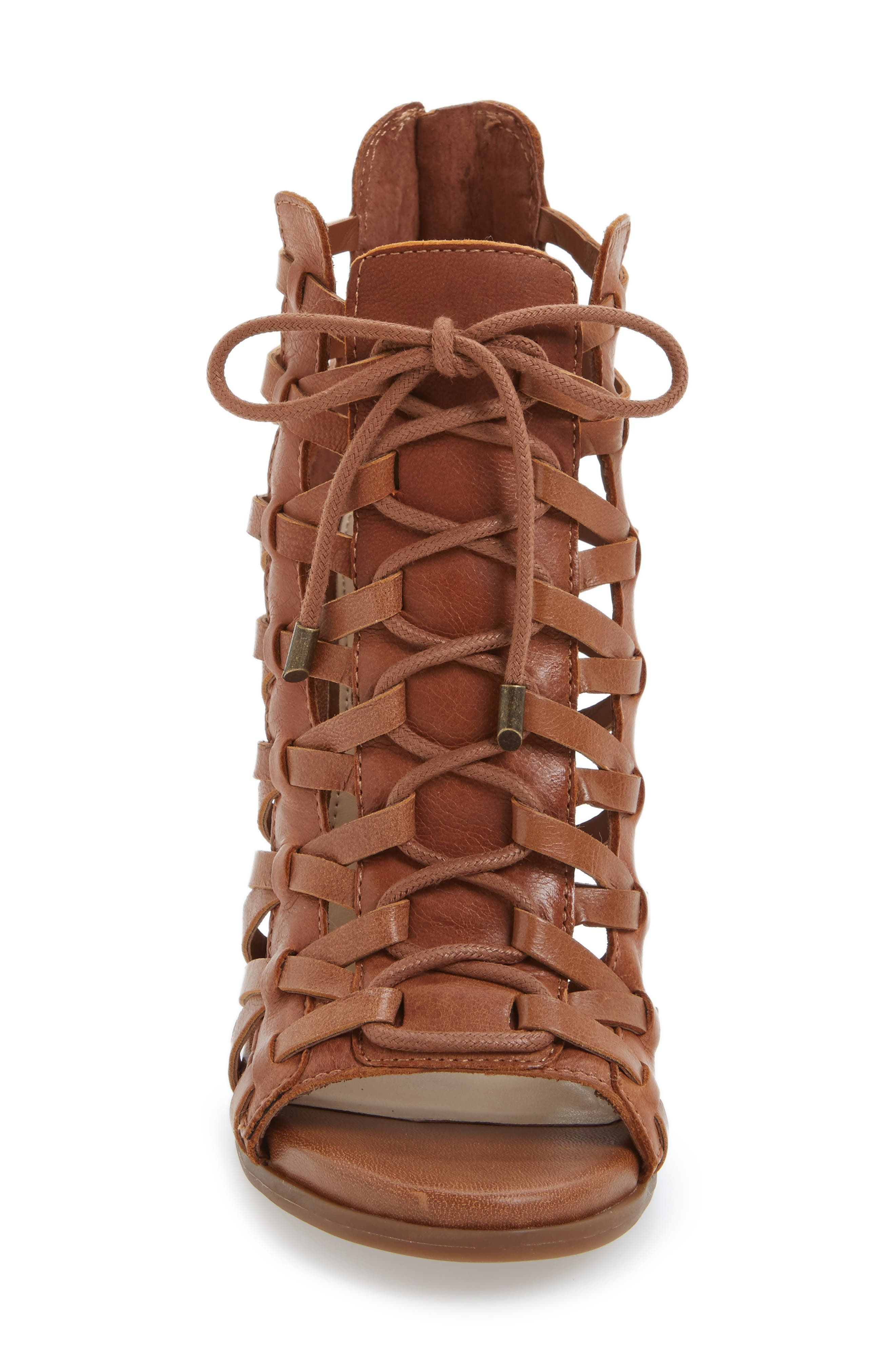 ,                             Riana Lace-Up Bootie,                             Alternate thumbnail 7, color,                             240