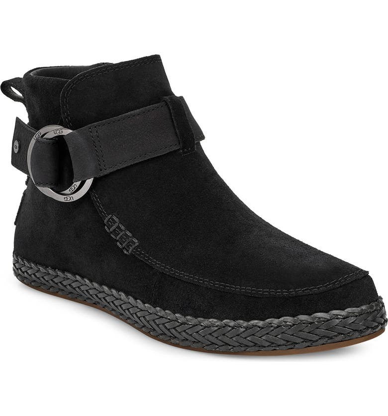 UGG<SUP>®</SUP> Sloane Boot, Main, color, BLACK SUEDE