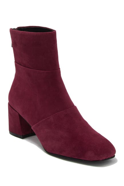 Image of KENNETH COLE Eryc Pleated Block Heel Boot