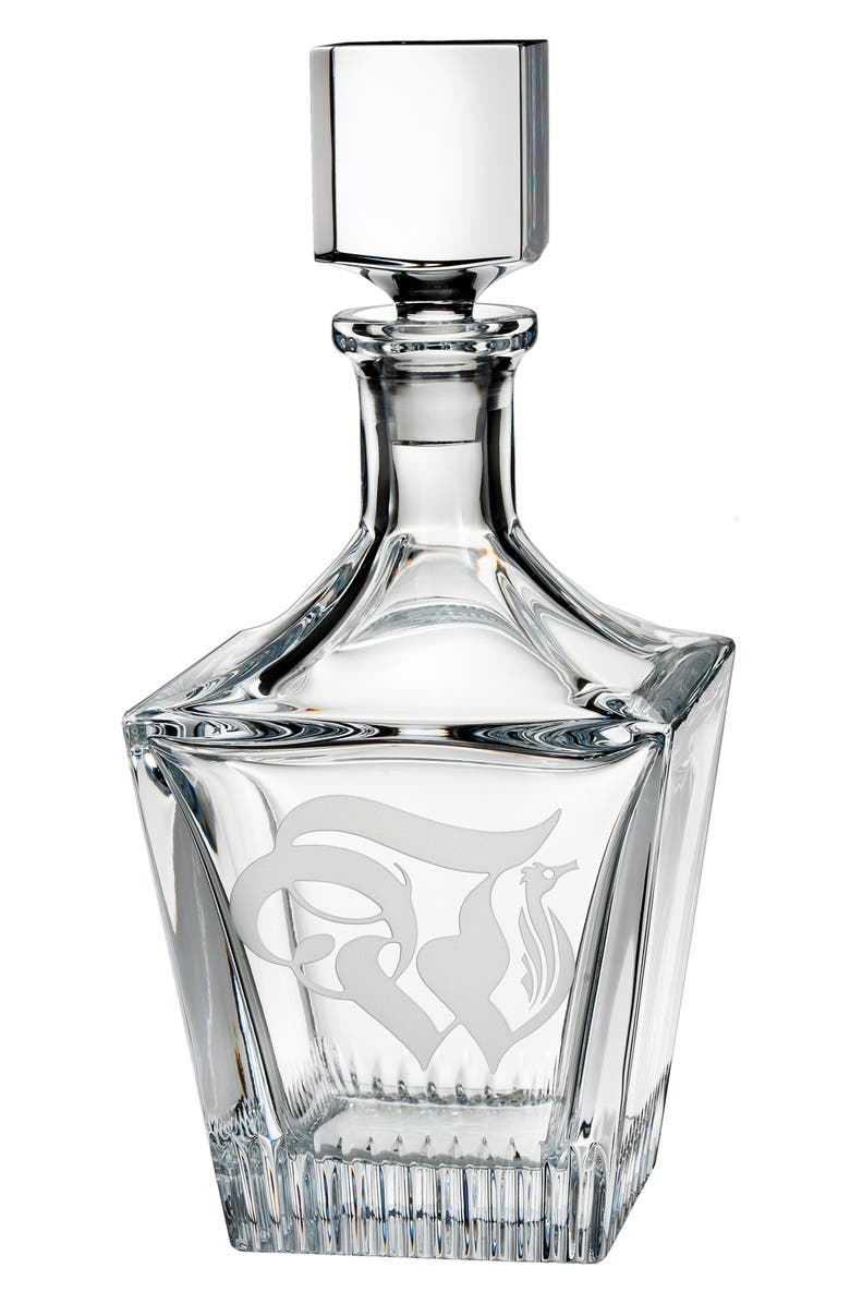 WATERFORD Short Stories Retro W Lead Crystal Decanter, Main, color, CRYSTAL