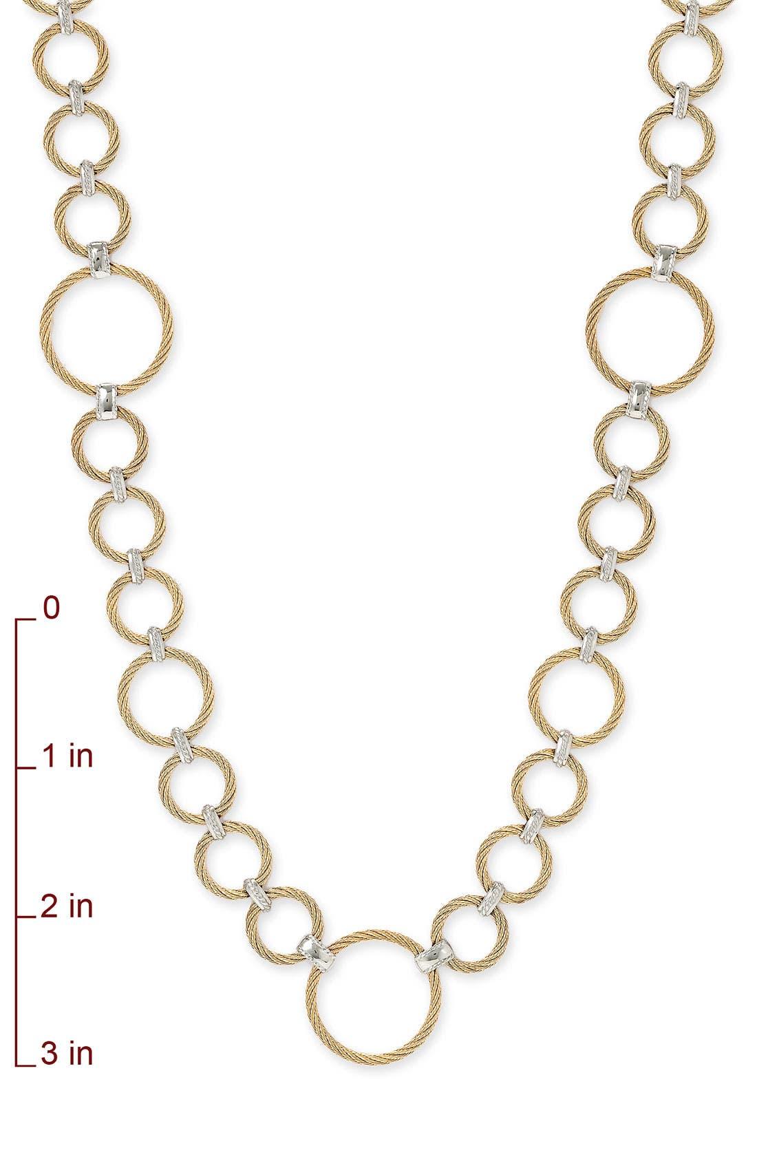 ,                             Long Link Necklace,                             Alternate thumbnail 2, color,                             710