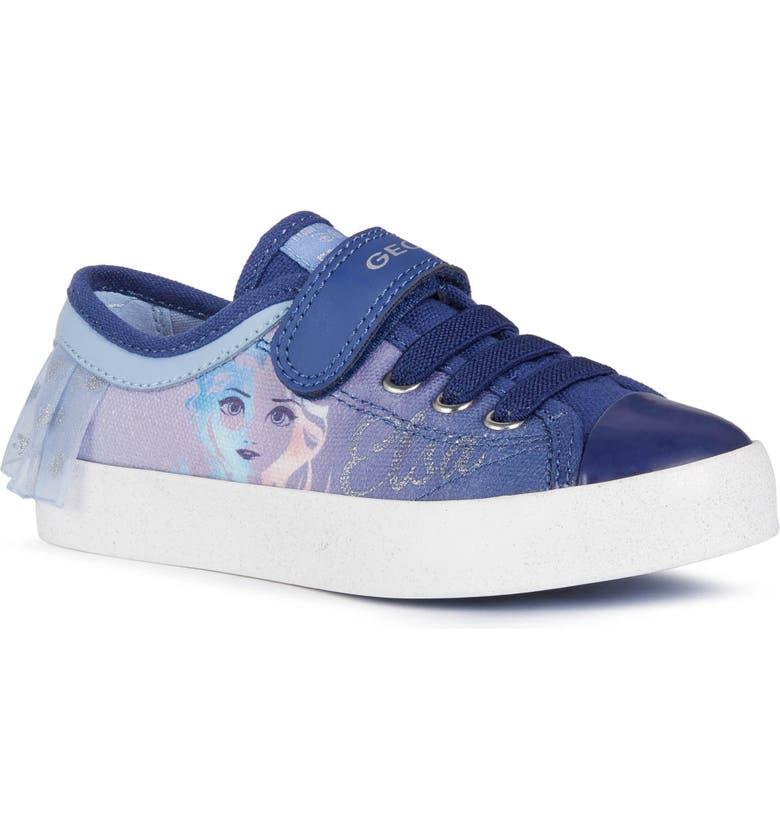 GEOX x Disney Ciak 74 Sneaker, Main, color, LIGHT SKY/ NAVY
