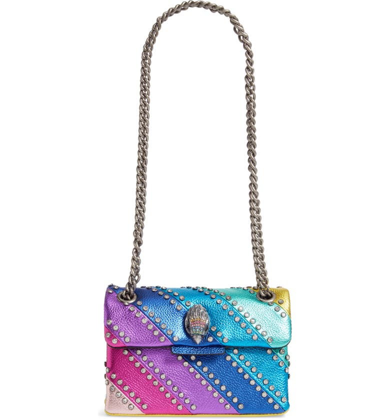 KURT GEIGER LONDON Mini Kensington Crystal Crossbody Bag, Main, color, MULTI/ OTHER