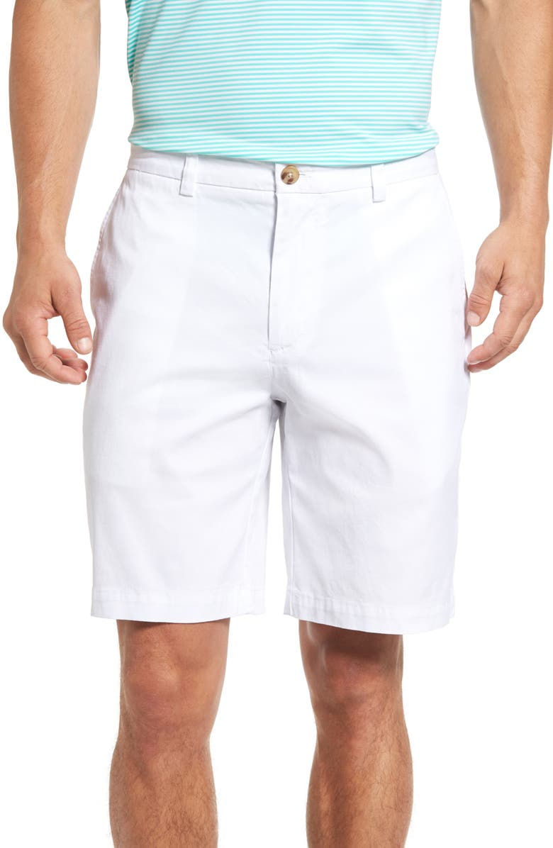 VINEYARD VINES 9 Inch Stretch Breaker Shorts, Main, color, WHITE CAP