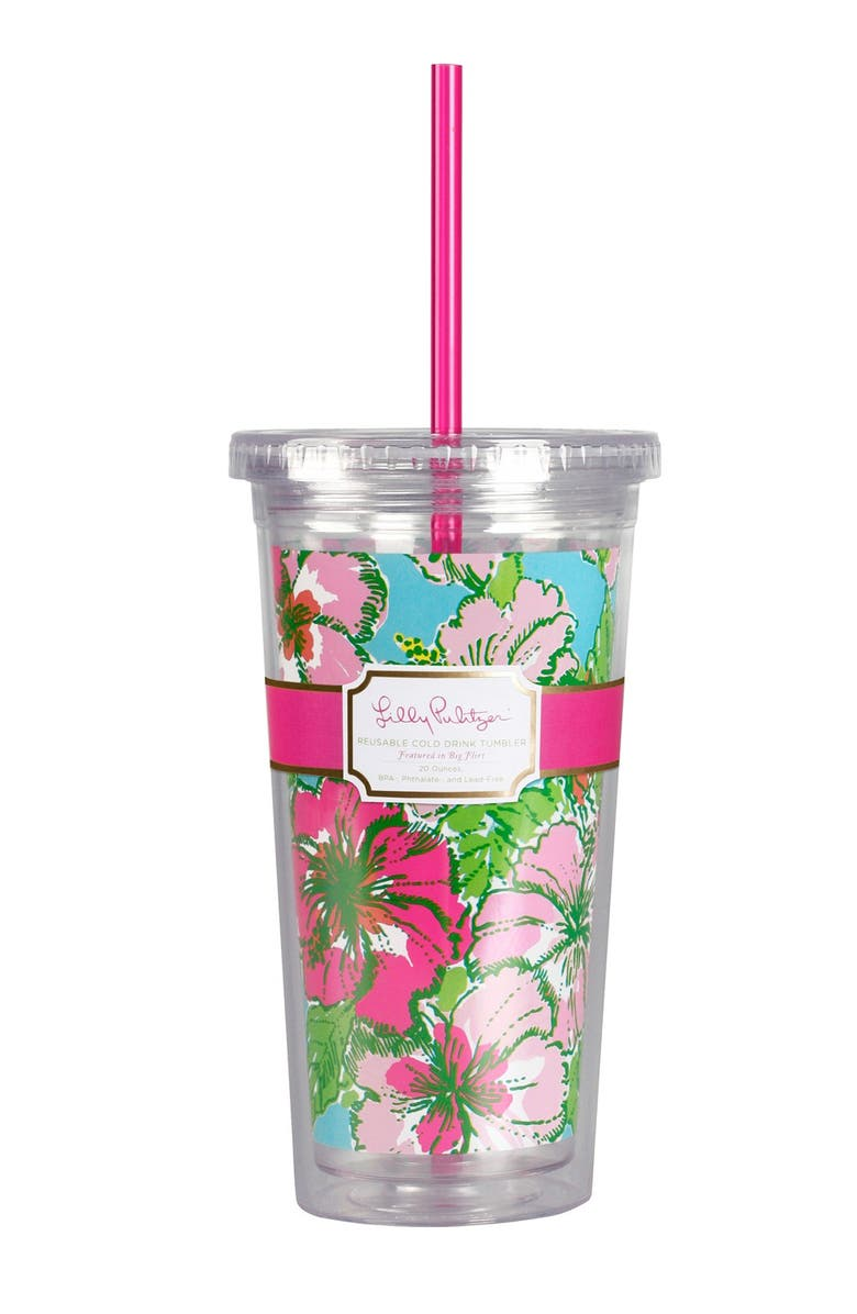 LILLY PULITZER<SUP>®</SUP> Travel Tumbler, Main, color, 300