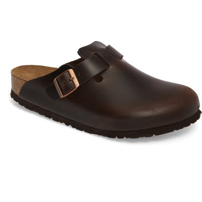Birkenstock Boston Soft Clog,9.5 - Brown