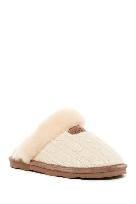 Image of BEARPAW Effie Genuine Sheepskin Fur Lined Slipper