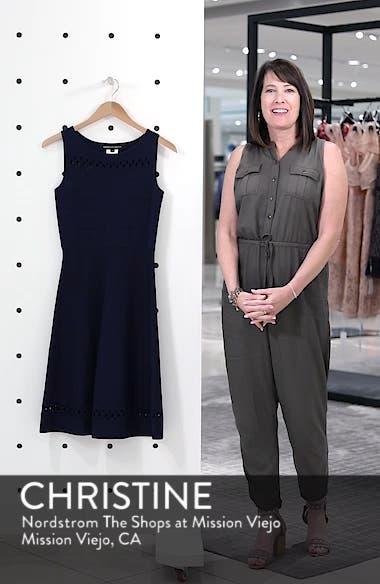 Kai Fit & Flare Sweater Dress, sales video thumbnail
