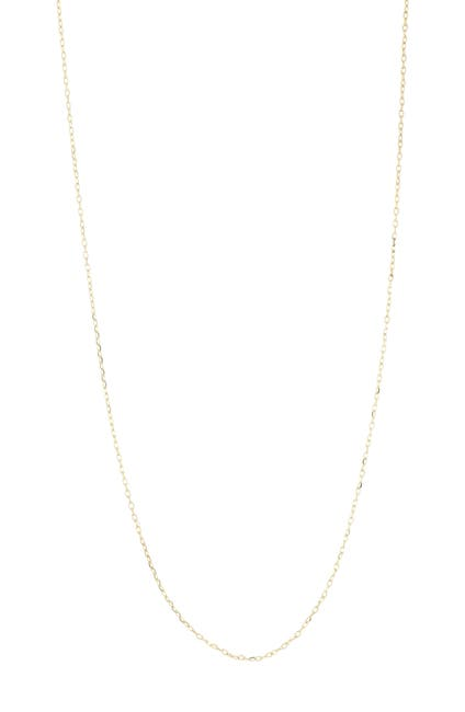 Image of Bony Levy 14K Gold Thin Rolo Chain Necklace
