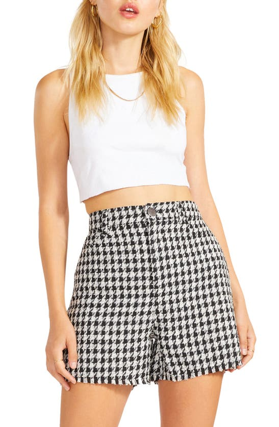 Bb Dakota Release The Hounds Bermuda Shorts In Black