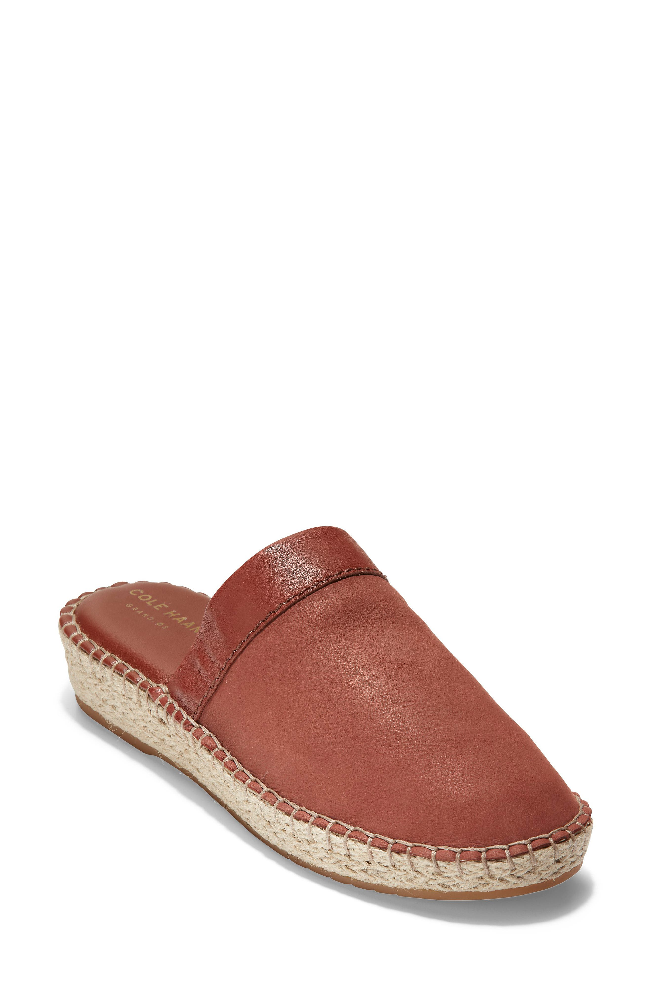 Cole Haan Cloudfell Espadrille Mule B - Red